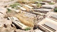 در قبرستان قدیمی سمنان ترس آدم را فلج می کند!+عکس