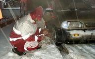 نجات جان 1667 مسافر گرفتار در برف در گلستان