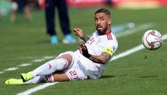 اشکان دژاگه بهترین هافبک جام ملت های آسیا