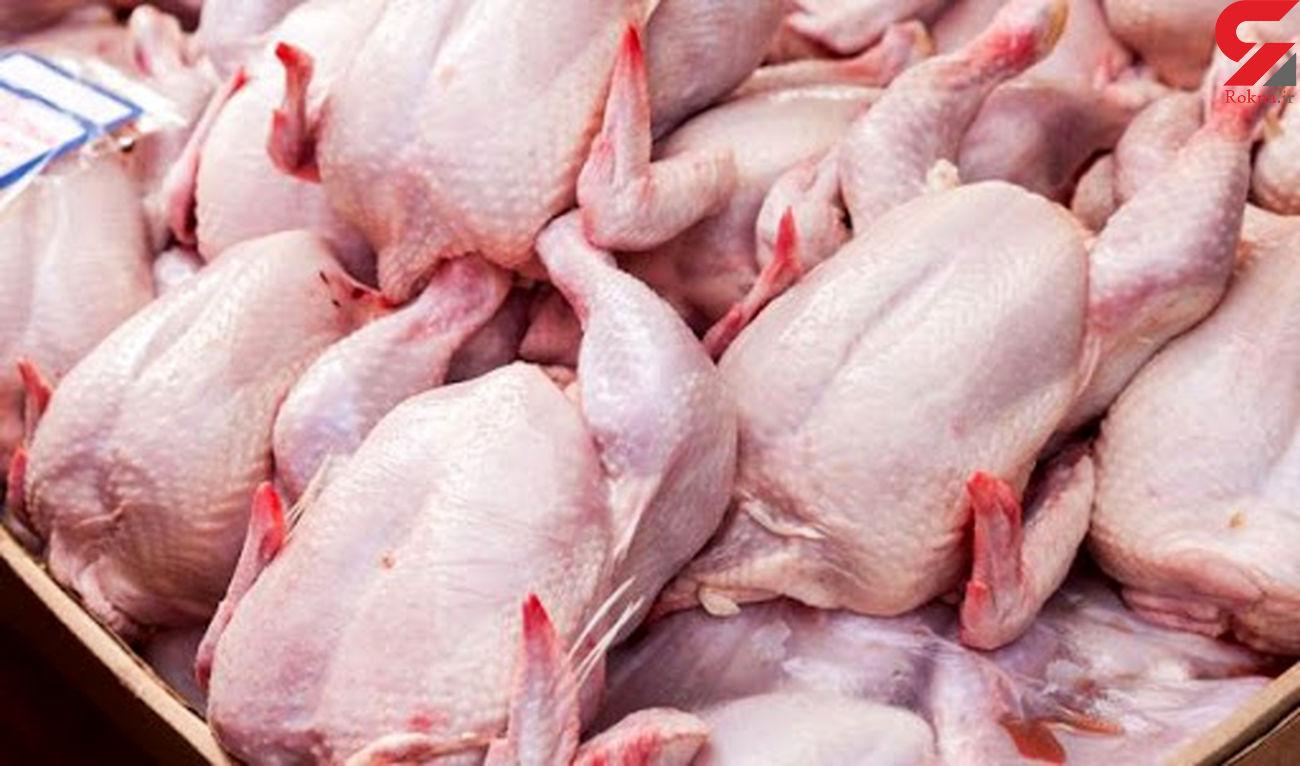 رصد توزیع گوشت مرغ در لرستان با سامانه کابوک