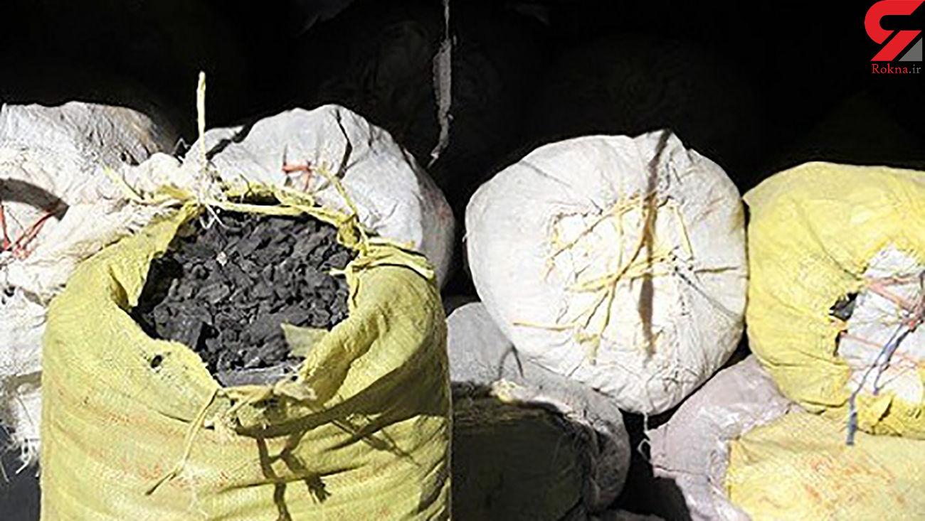 دستگیری قاچاقچی چوب در ملایر