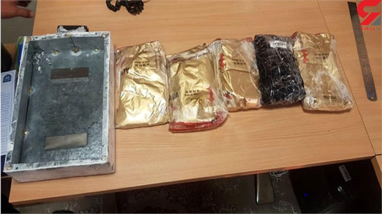 محموله مواد مخدر از یک کامیون یخچالدار در بندر دیر کشف شد