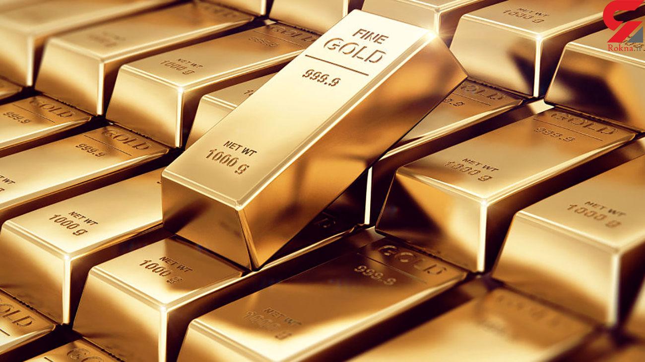 قیمت جهانی طلا امروز دوشنبه 25 اسفند