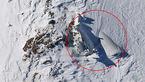 لاشه هواپیما تهران-یاسوج از زیر برف خارج شد/ عکس های هوایی از لاشه