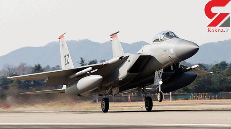 سقوط جنگنده اف-۱۵ آمریکا در آبهای ژاپن
