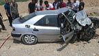 برخورد مرگبار و شاخ به شاخ پراید و زانتیا 5 کشته و 2 زخمی داد + تصاویر