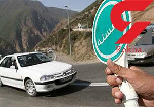 خروجی تهران در گردنه قوچک قفل شد / «جاده تلو» در شمال شرق تهران مسدود شد + فیلم