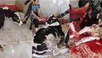مرد گاو کش در کاشمر بازداشت شد + عکس گاو های نگون بخت