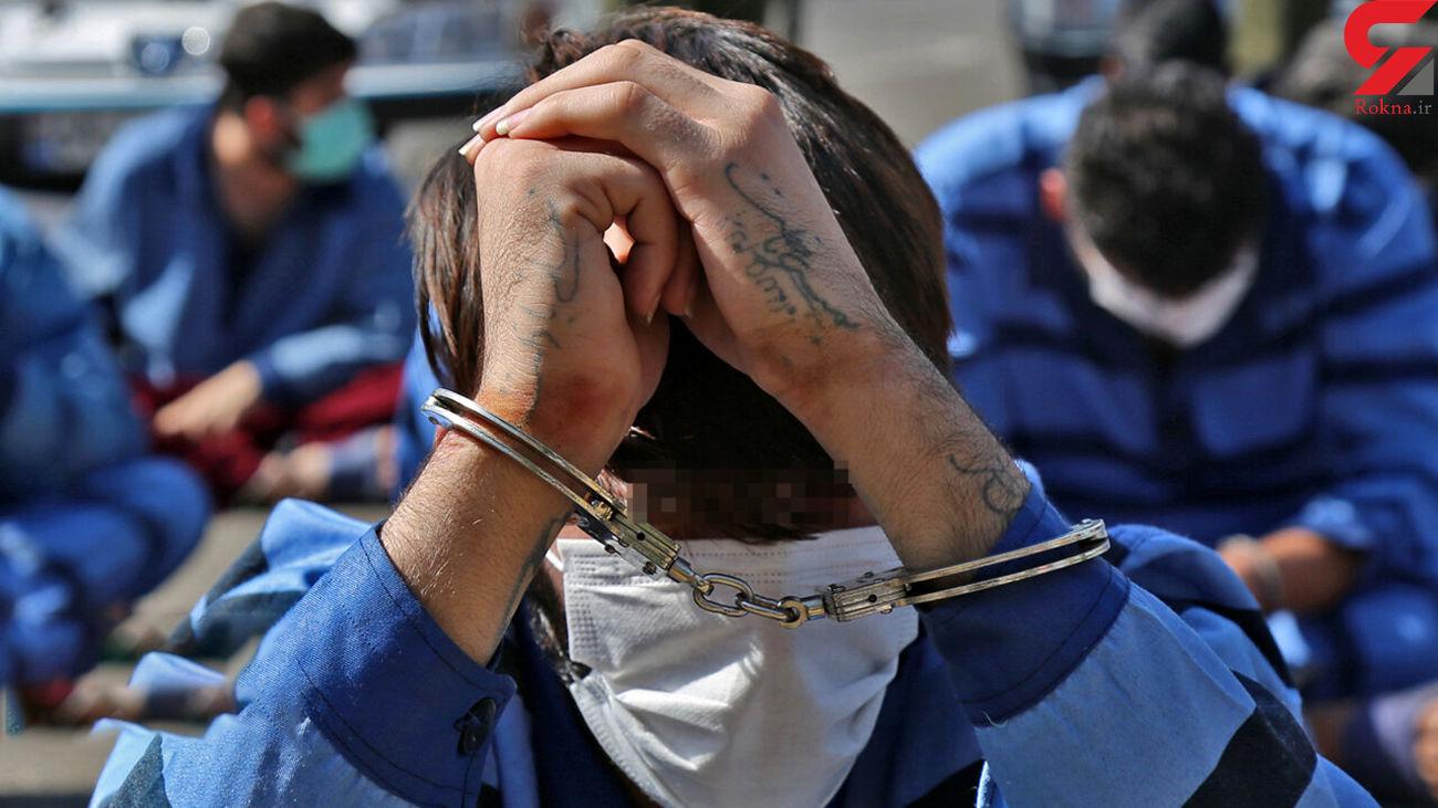 دستگیری 102 تبهکار در مرداد / پلیس تهران فاش کرد