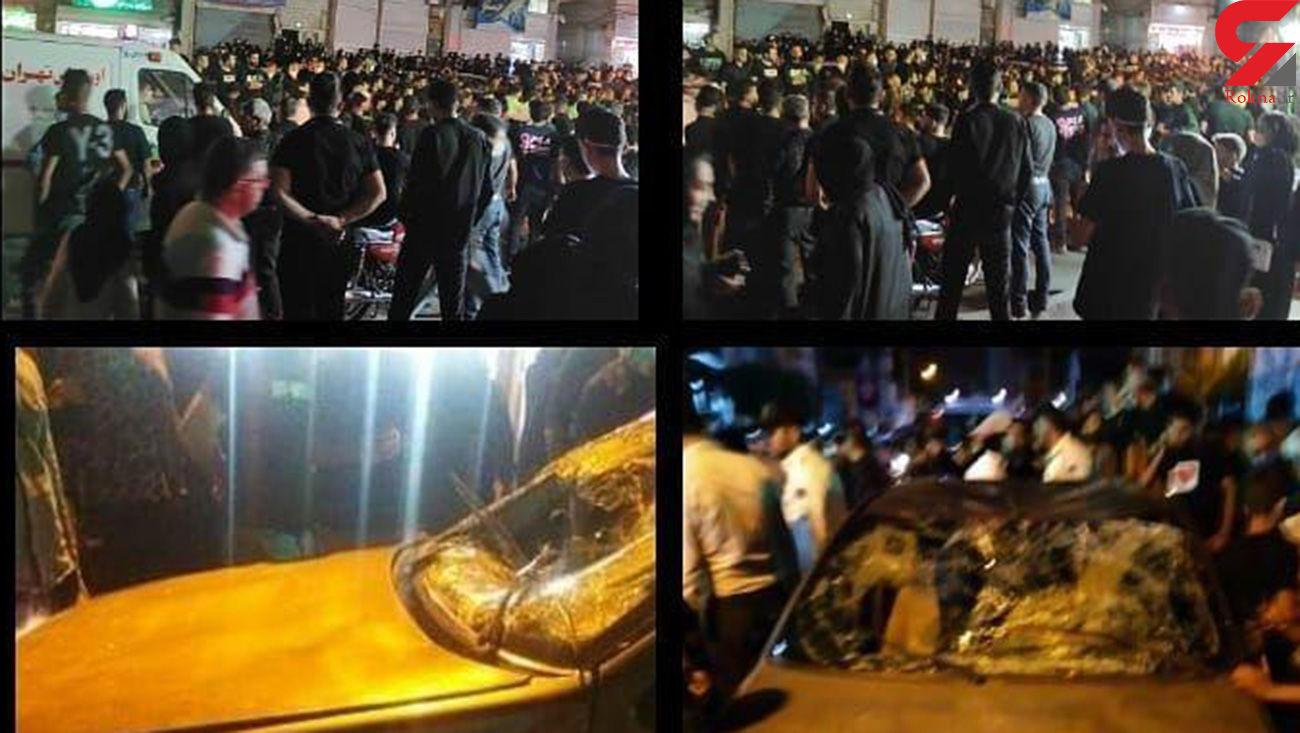 دستگیری دومین متهم زیر گرفتن عزاداران شب عاشورا در  شهر قدس + فیلم و عکس