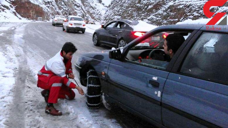 جاده خرم آباد - اراک بسته شد