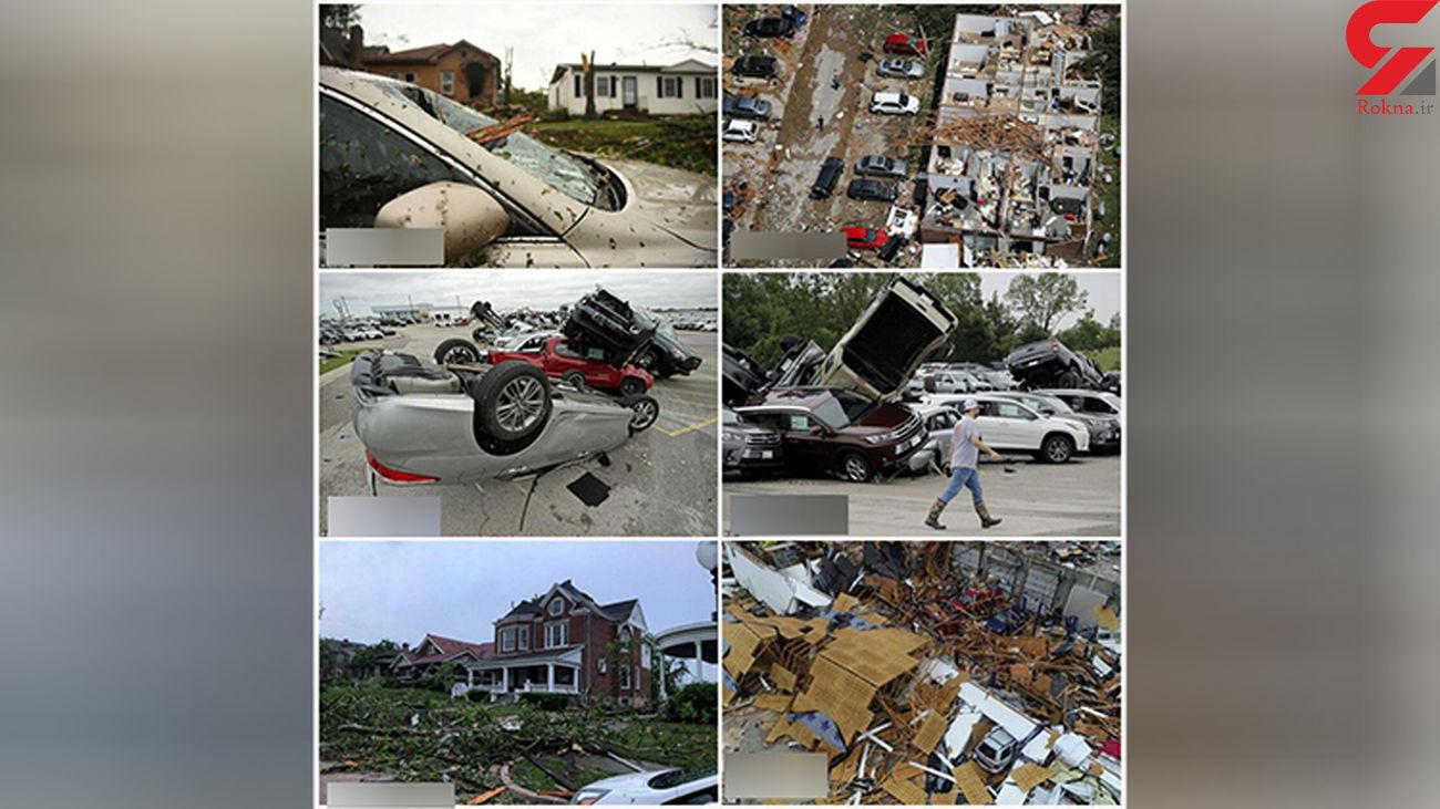 خسارات طوفان در آمریکا+عکس