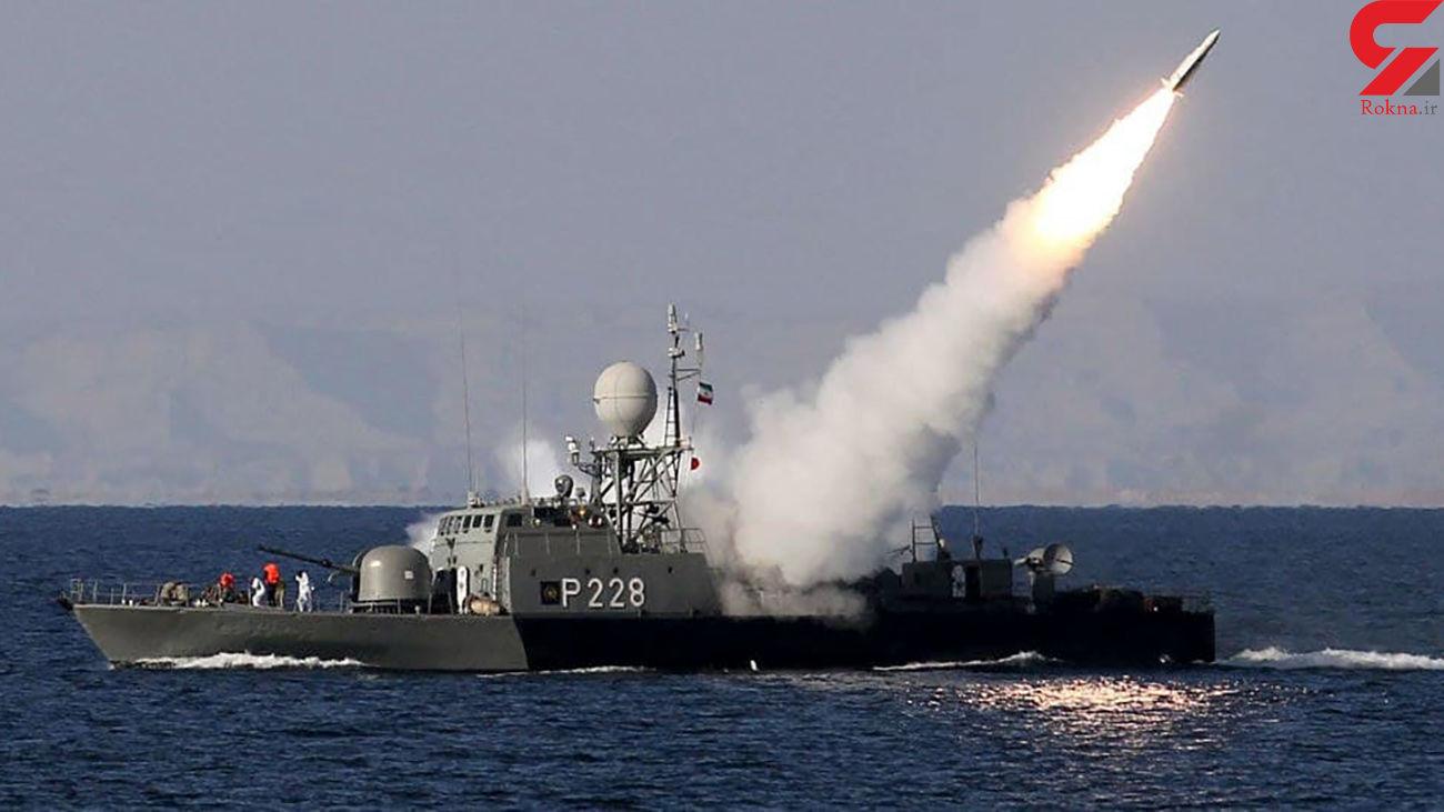 نشنال اینترست : موشکهای ایرانی قادرند ناو هواپیمابر آمریکایی را غرق کنند