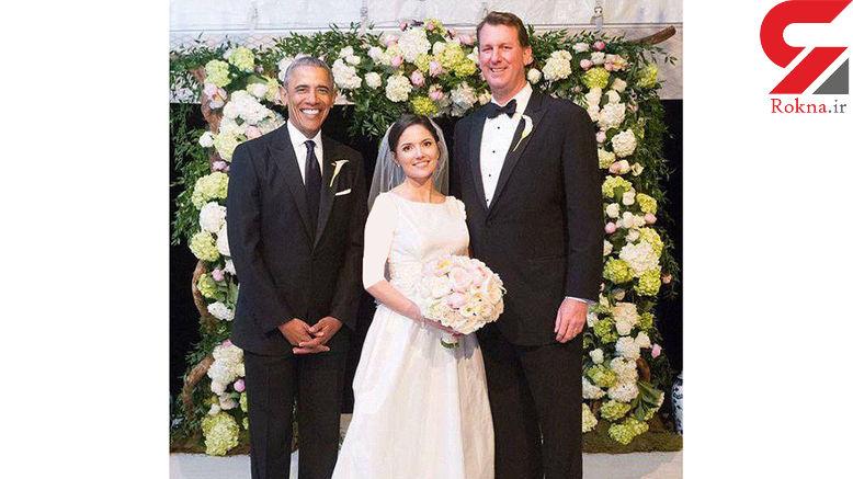 وقتی اوباما ساقدوش داماد می شود+ تصاویر