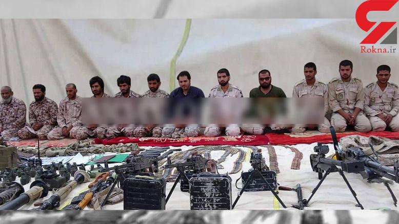 ۱۲ مرزبان ایرانی ربوده شده سالم هستند +اولین عکس و اسامی