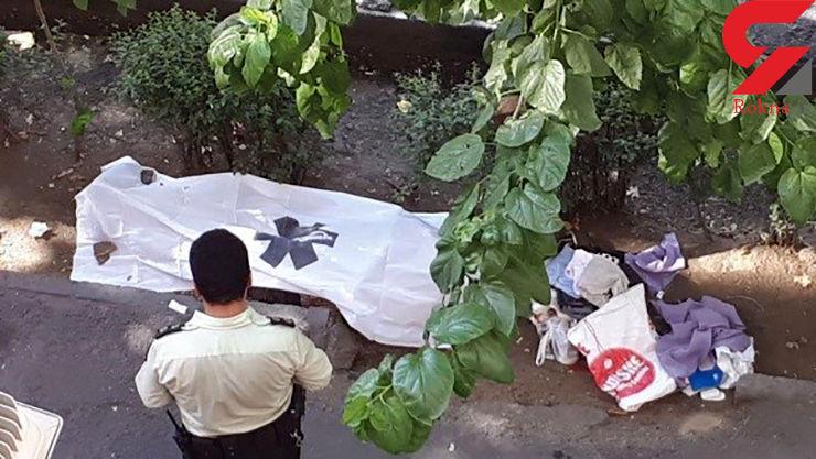 جسد کارتن خواب تهرانی 8 ساعت روی زمین ماند! + عکس