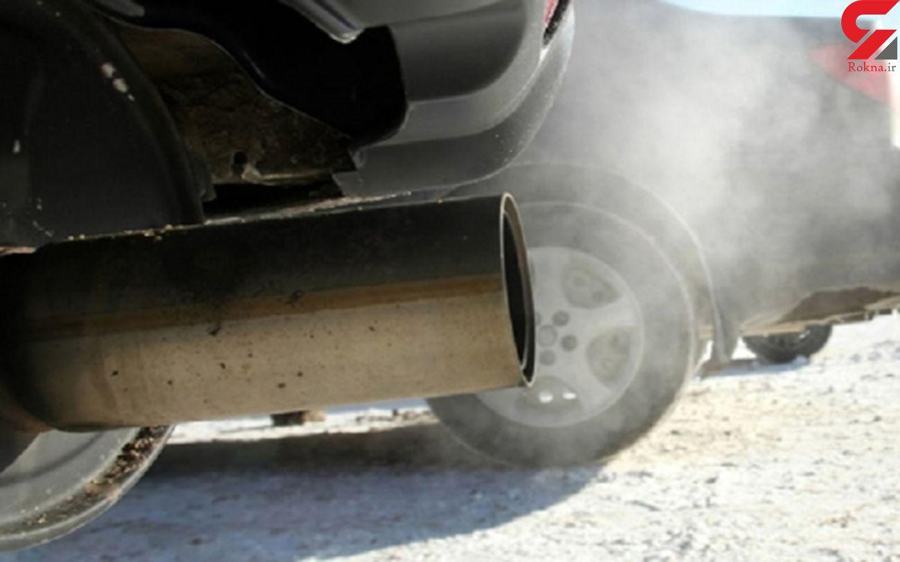 در سال ۹۹ در هر ساعت ۶ خودروی آلاینده اخطاریه دریافت کردند