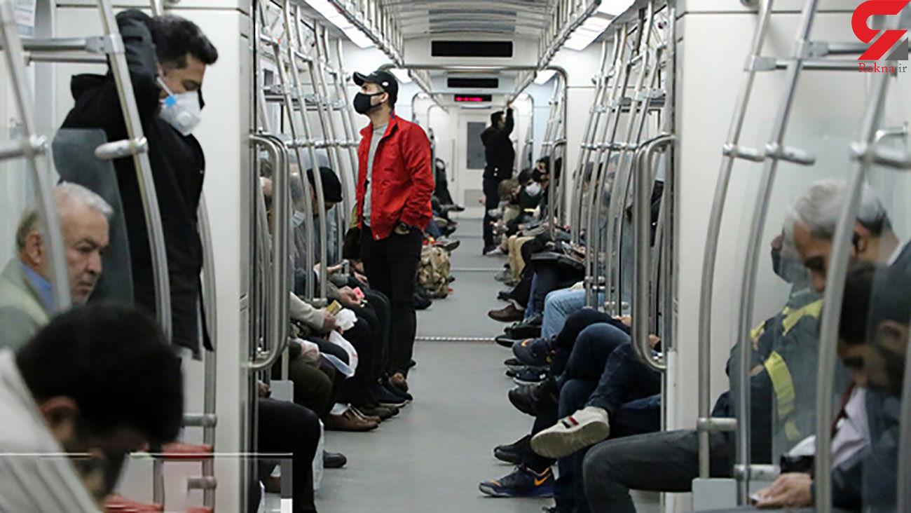 متروهای پایتخت همچنان ضدعفونی می شوند