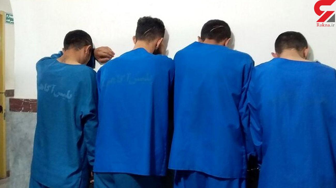بازداشت مردان مخوف که زنجانی ها از آنها می ترسیدند + آنها طلا می خواستند