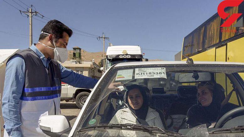 1300خودرو از ورودی شهر دهدشت برگشت داده شد