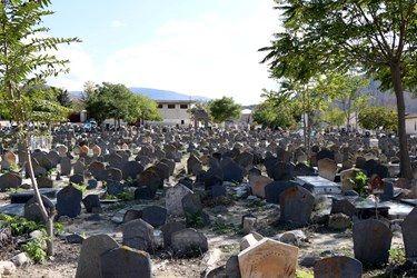 قبرستانی از دوره تیموریان در مازندران