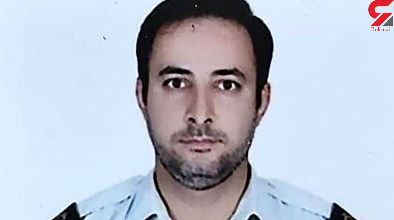این پلیس جوان در خمین به شهادت رسید +عکس