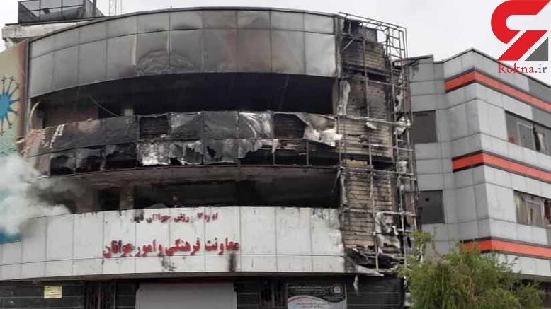 خسارت میلیاردی به خانه جوان در شیراز