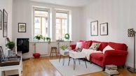 رنگ قرمز و سفید در دکوراسیون خانه جادو می کند
