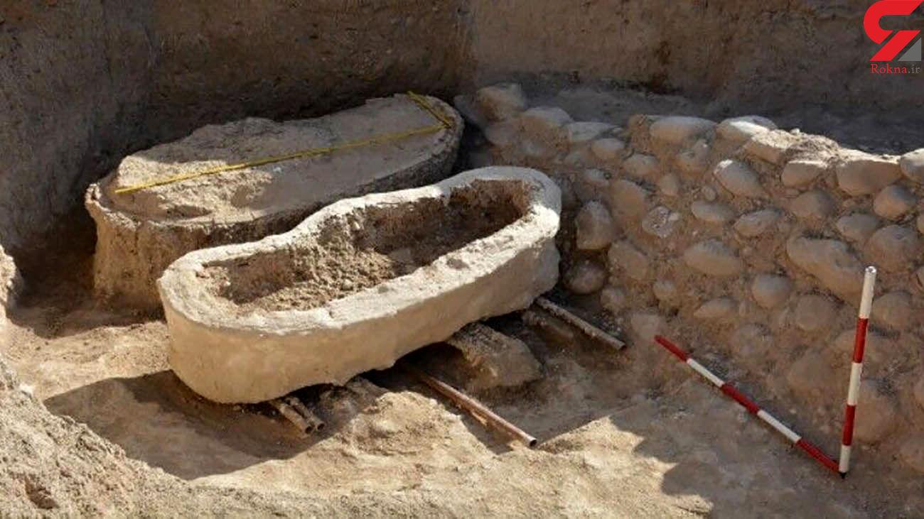 کشف 2 محوطه باستانی در حاشیه جاده کرج - چالوس