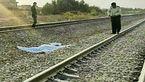 برخورد قطار باری با یک زن در اندیمشک