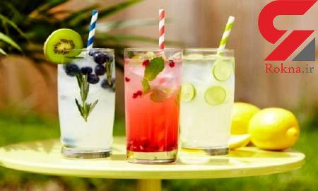 نوشیدنی های شاداب کننده با سیفی جات معطر