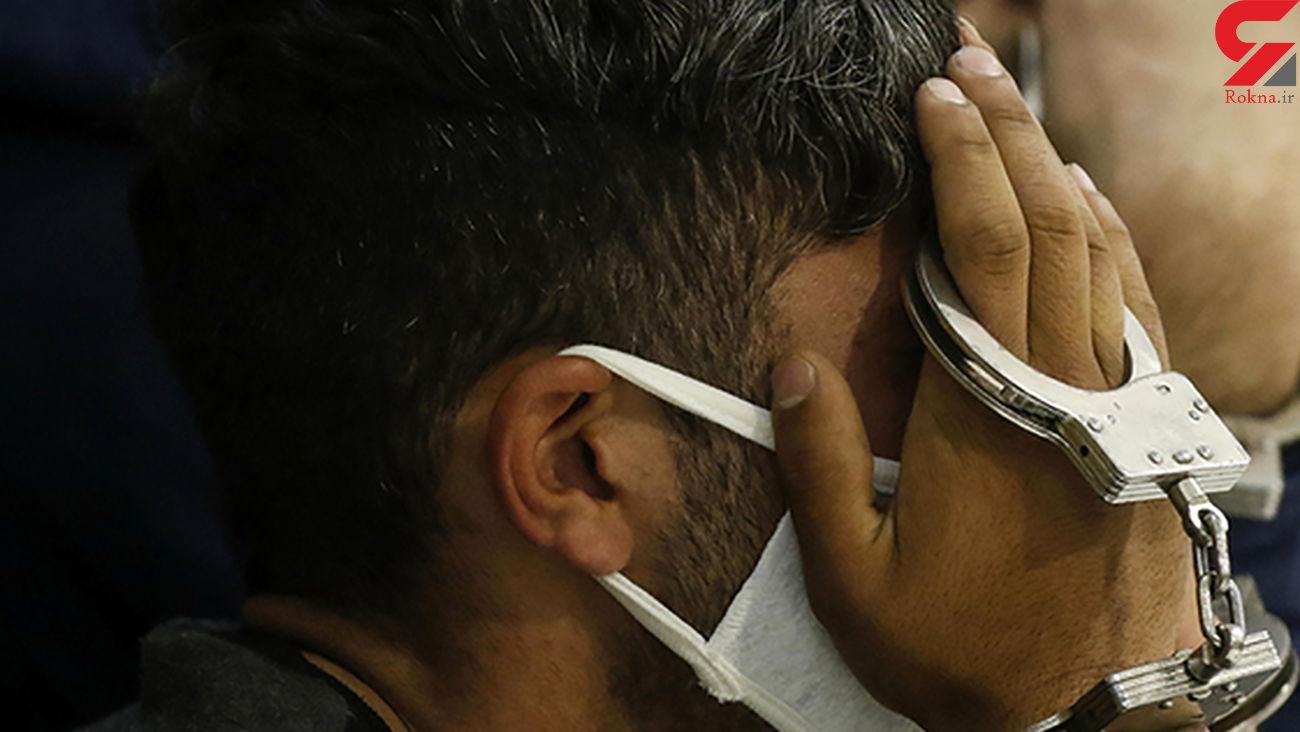 گفتگو با دزد رزمی کاری که به روی پلیس تهران چاقو کشید! + عکس