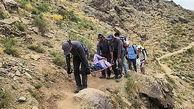 نجات مرد تهرانی در ارتفاعات توچال + عکس ها