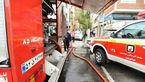 """آخرین عکس های آتشسوزی در مجتمع """"رزمال"""" تهران"""