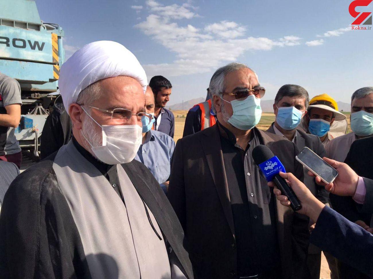 ۲ هزار میلیارد تومان برای راه آهن همدان – سنندج هزینه شد