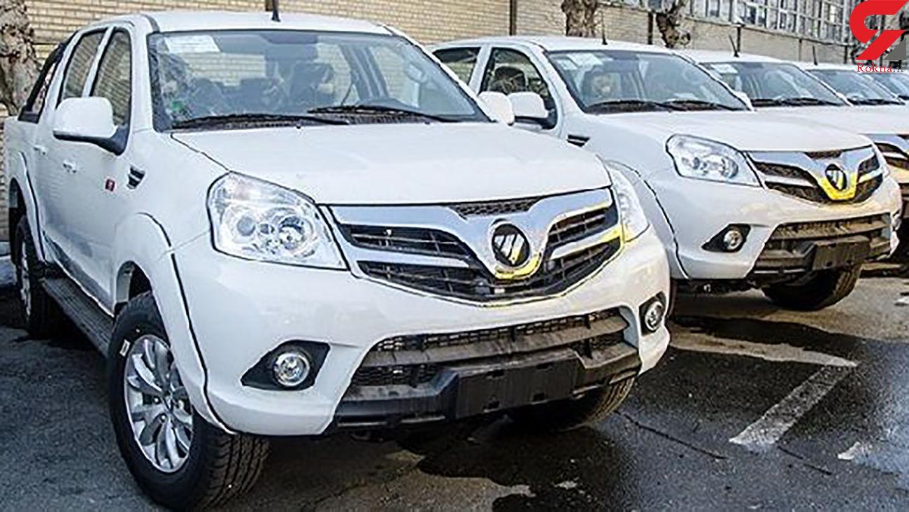 قیمت جدید پیکاپ فوتون ایران خودرو + عکس