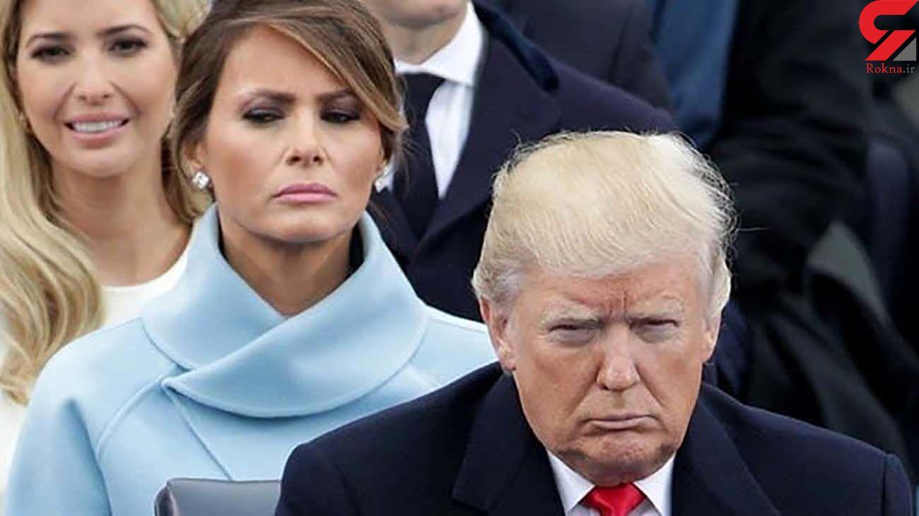ملانیا از دونالد ترامپ طلاق می گیرد !