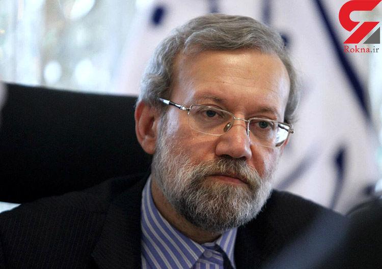 تاکید لاریجانی بر حمایت ایران از حفظ تمامیت ارضی سوریه