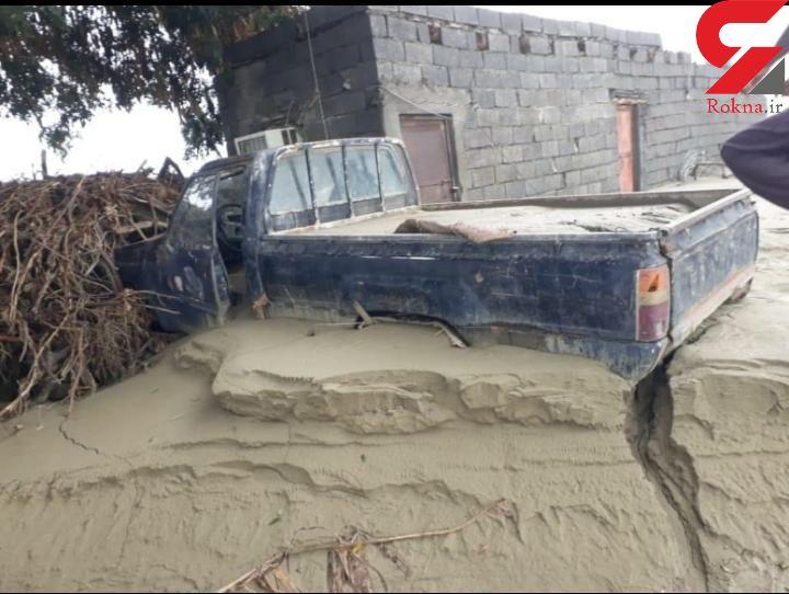 صدها روستا در محاصره سیلاب در سیستان و بلوچستان / امداد رسانی ادامه دارد  + فیلم