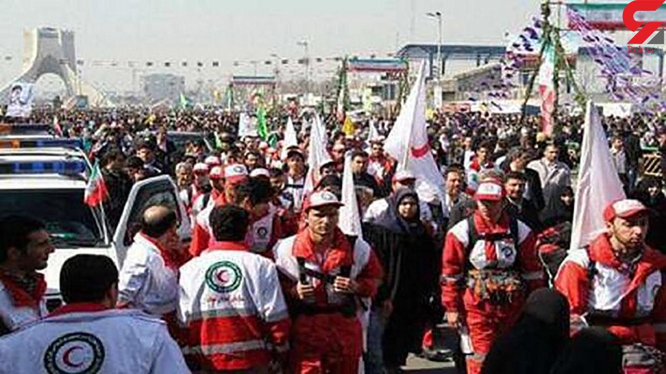 پوشش امدادی یوم الله 22 بهمن در تهران تشریح شد
