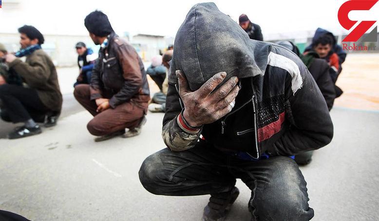 دستگیری 183سارق و معتاد در ساوه