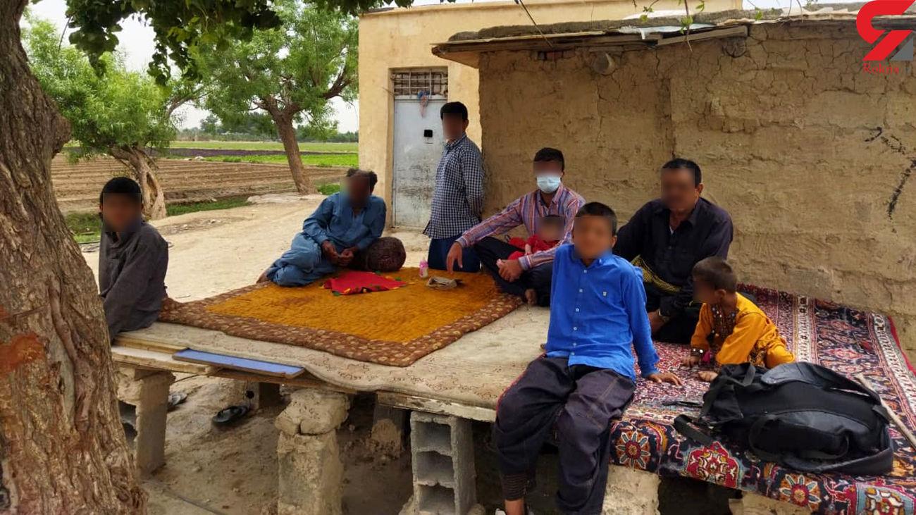 زندگی پر ابهام مردی با 20 فرزند در حاشیه تهران / کلاهبرداری با نمایش فقر ؟! + فیلم
