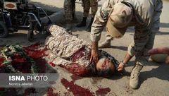 عکس های 6 پیکر خونین شهدای حادثه تروریستی اهواز در صحنه! + جزییات