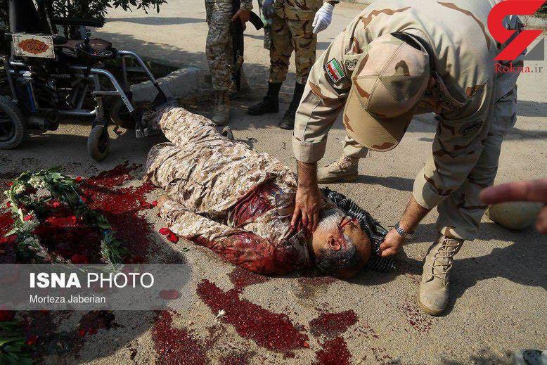 تصاویر تروریست های امروز اهواز