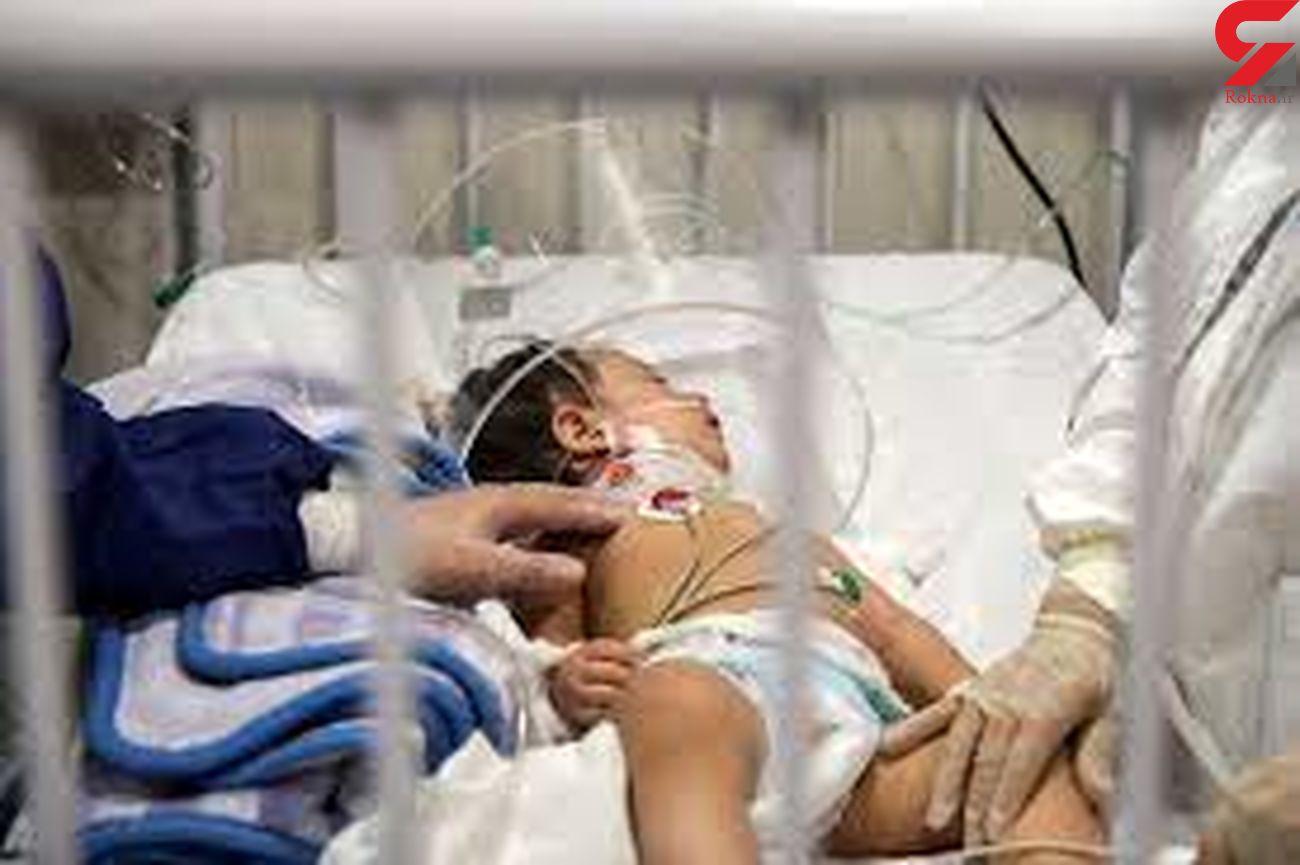 مرگ کرونایی نوزاد 10 روزه در کرمان / پرستاران اشک ریختند
