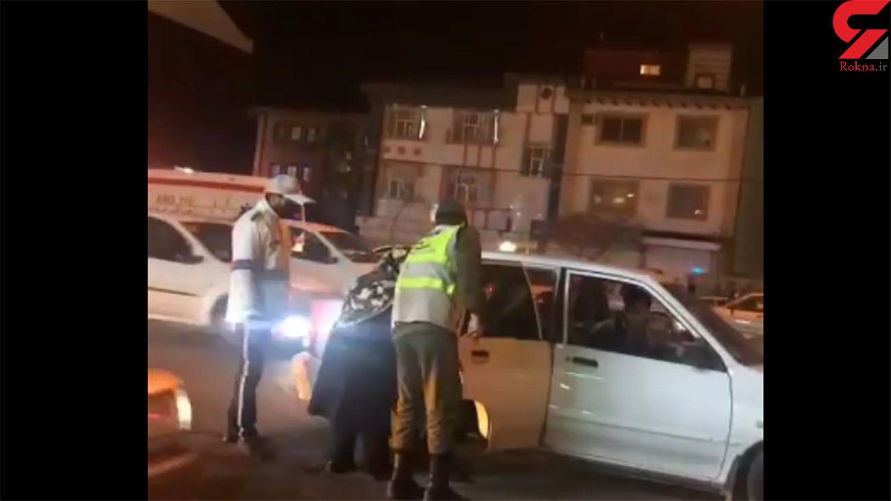 اقدام زیبای پلیس راهور در رشت + فیلم