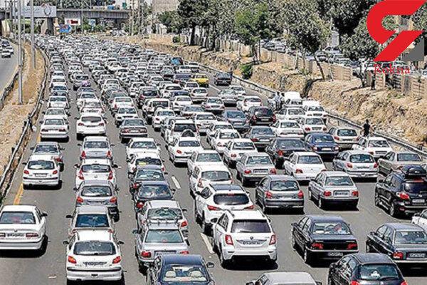 آخرین وضعیت ترافیکی در بزرگراههای پایتخت + جزئیات