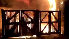 آتش سوزی در باغ وحش چستر بریتانیا