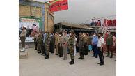 بازدید وابستگان نظامی کشورهای خارجی مستقر در ایران از نمایشگاه دفاع مقدس