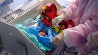 تولد نوزاد سالم از مادر کرونایی در زنجان + عکس
